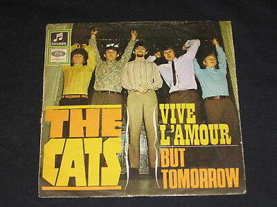 "7"" The Cats: Vive L´amour / But Tommorow Rare German Columbia"