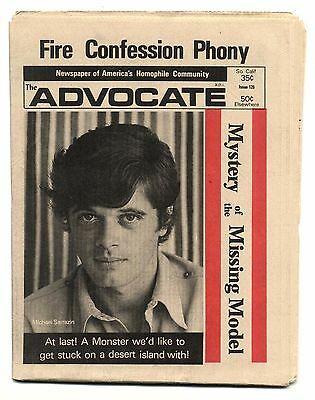 THE ADVOCATE No 126 December 5, 1973 Gay interest magazine/newspaper
