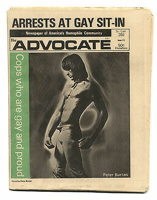 THE ADVOCATE No 111 May 9, 1973 Gay interest magazine/newspaper