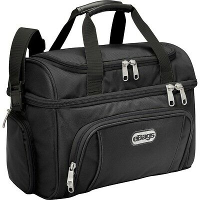 eBags Crew Cooler II Outdoor Lunch Box Travel Strong Durable (Pitch Black)