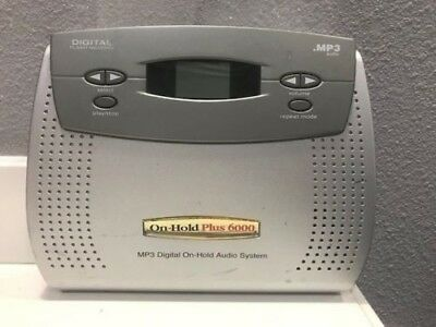 On-Hold Plus 6000 Digital On-Hold Audio System, MP3 Music Message Player MOH