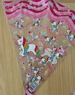 Unicorn Sweet Cone Bags children's party for home filling