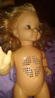 Vintage talking Doll by Mattel Chatty Cathy? maybe, Please read description.