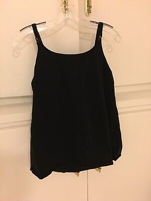 Maternity Nursing Tank Tops Large Gray And Black