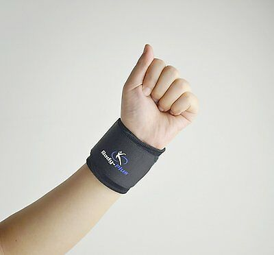 Neoprene Wrist Support Sports Brace Adjustable Strap medically approved nhs use
