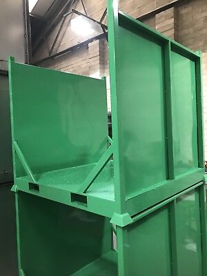 Steel Stillage , Stackable , Storage Container ideal for carpet or underlay