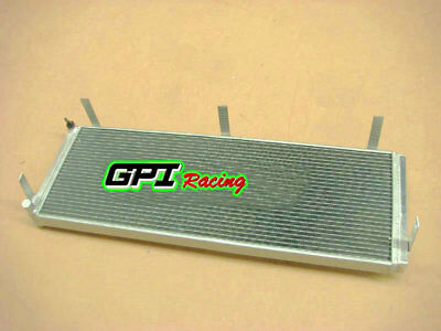 Aluminum air to water intercooler heat exchanger for TOYOTA MR2 SW20
