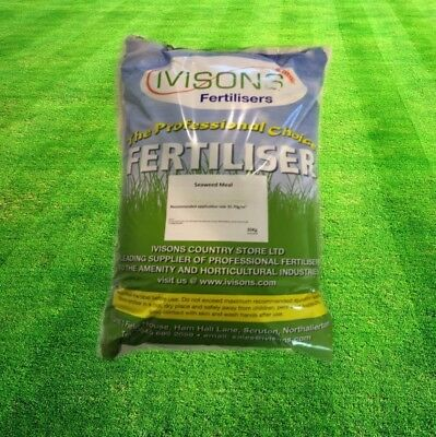Ivisons 100% Natural Organic Seaweed Meal Fertiliser and Lawn Conditioner