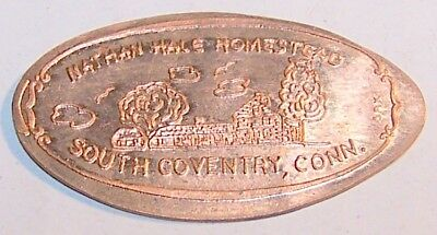 KIR-18: Elongated CENT: NATHAN HALE HOMESTEAD / SOUTH COVENTRY, CONN. (Building)