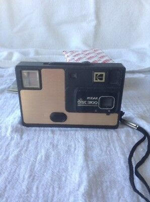Vintage Kodak Disc 3100 Camera With Film - Free Shipping