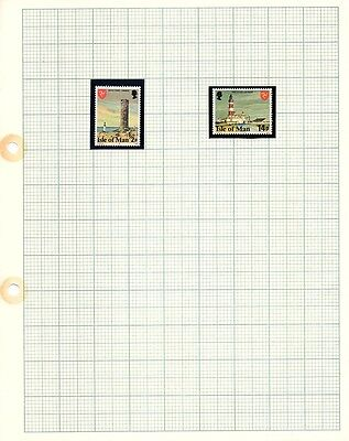 Isle of Man Stamps -1981 Mint Set of Definitive Issue SG111 and 121