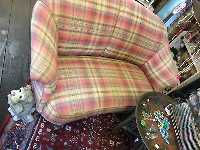 Genuine  Victorian 2 seater tub back settee