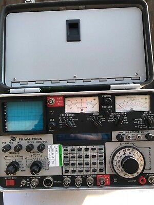IFR 1200S Service Mon Refurb/Calibrated, Opt 12 Tracking Gen, Opt 10 DVM, Opt 5