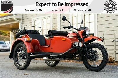 2018 Ural Gear Up 2WD Terracotta Classic  Custom Color Updated Model Reverse Gear Financing & Trades