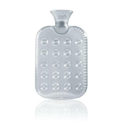 Fashy Transparent Clear Hot Water Bottle 1.2 litre Thermoplastic Odour Free
