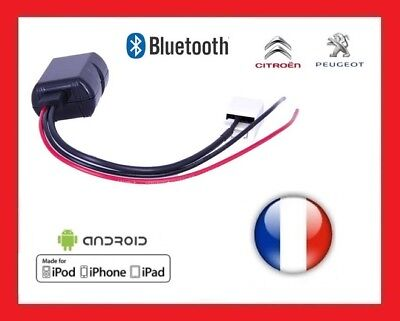 INTERFACE Bluetooth pour Peugeot Citroen Autoradio RD4 Adaptateur bluetooth RD4