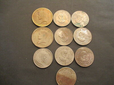 Ten Older Coins From The Philippines. Lot 203
