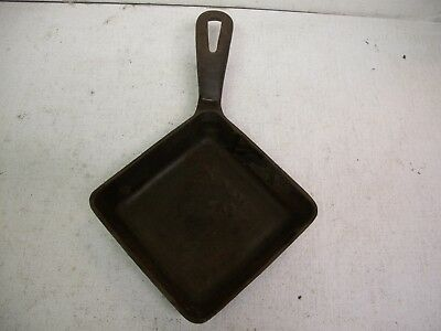 Small Vintage GRISWOLD Cast Iron Since 1965 Square Egg Skillet 129A