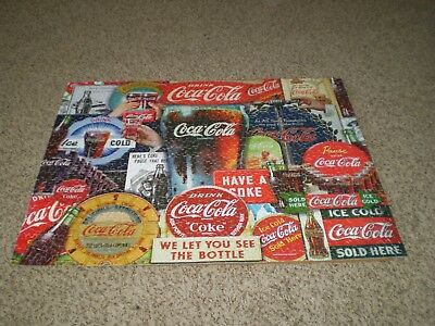 "Coca-Cola~Coke~Springbok 1000 Piece Puzzle~Decades Of Tradition~24"" x 30"""