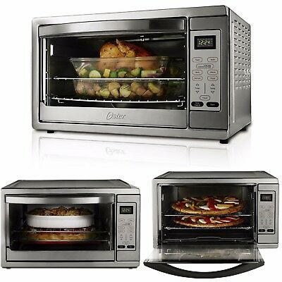 Large Countertop Oven Convection Technology Baker Digital Controls 2 Racks Timer
