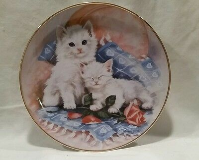 """Franklin Mint """"Purrfectly Precious"""" by Brian Walsh Limited Edition"""