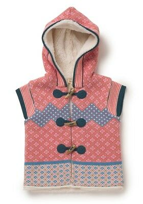 NWT Matilda Jane - Warm Hugs Vest Sweater, size 6