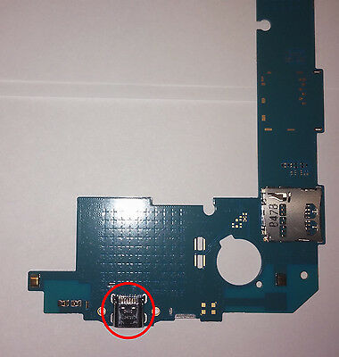 Galaxy Tab 4 T230, T230NU, T237P 7 inch USB/Charge Port Mail In Repair Service