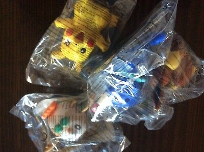 ##* McDonalds Happy Meal Pokemon die ersten 4 ##*