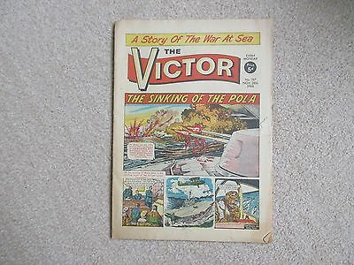 THE VICTOR COMIC,  No 197 - November 28th 1964 - The Sinking Of The Pola.