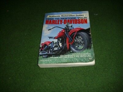how to restore your harley davidson buch book