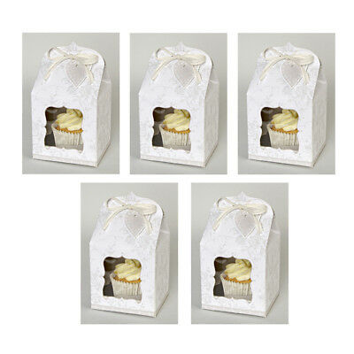 Meri Meri To Have And To Hold Small Cupcake Boxes - JOB LOT