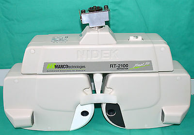 Marco / Nidek RT-2100 Refractor Auto Photopter Final Fit Phoroptor For Epic 2100