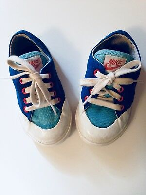 Vintage Nike Red White And Blue Sneakers Toddler's Size 5