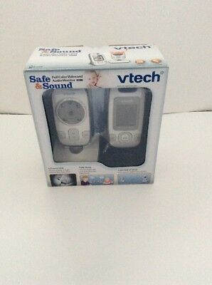 NEW VTech VM312 Safe and Sound Video Baby Monitor with Automatic IR Night Vision