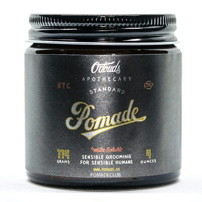 O'Douds Apothecary All Natural Standard Water Based Vegan Pomade 4oz