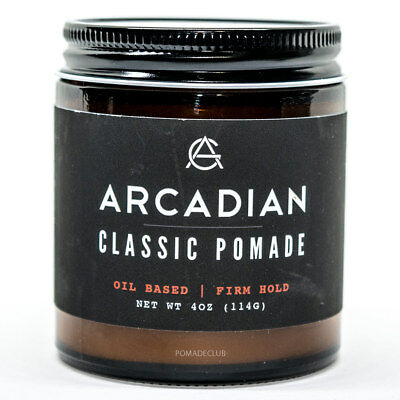 Arcadian Grooming Classic Firm Hold Pomade 4oz