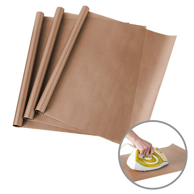 "3 Pack PTFE Teflon Sheets for Heat Press Transfers Sheet 16"" x 24"" Non Stick Hea"