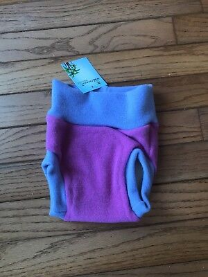 Wild Coconut Wool Cloth Diaper Cover Up size small