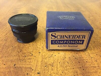 Schneider-Kreuznach Componon f/4 50mm Enlarger Lens - 1:4/50