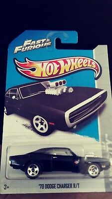 2013 Hot Wheels Fast & Furious '70 Dodge Charge R/t Hw City New In The Package