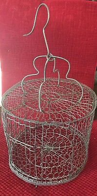 Vintage Bird Cages Made From Wire