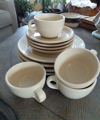 VTG ROLOC Restaurant Dinnerware 12 pieces Made in the USA