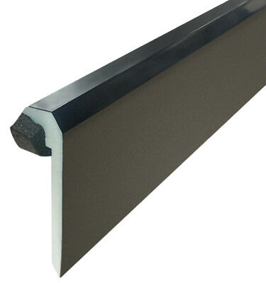 Kerb Upstand Edge Trim for EPDM Rubber Roofing u-PVC