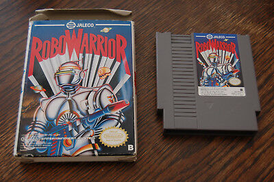 EUROPEAN VERSION: Robowarrior NES Nintendo Game in Box EEC PAL-B NO MANUAL