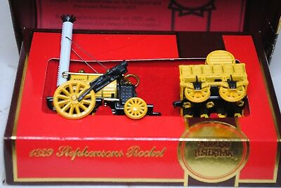 Matchbox Models of Yesteryear Y-12 1829 Limited Edition Stephensons Rocket boxed