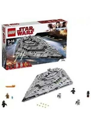 LEGO Star Wars The Last Jedi 75190 First Order Star Destroyer Toy NEW SEALED