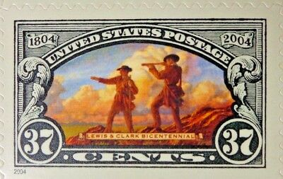 2003 37c Lewis & Clark Expedition Bicentennial US Postage 1 Sheet 20 Stamps