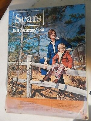 Vintage Sears 1975 Fall/Winter Catalog With cool fashions and items 43 years old