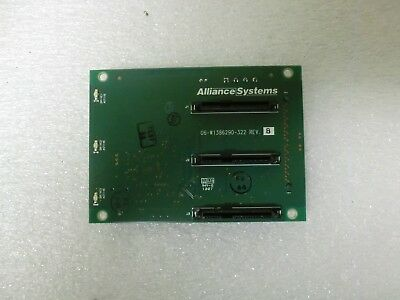 New! Alliance Systems BackPlane  Board 06-W1386290-322 REV B