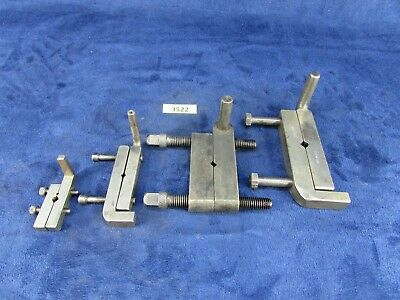 Lot of 4 Adjustable-Type Drive Dogs  (#3522)